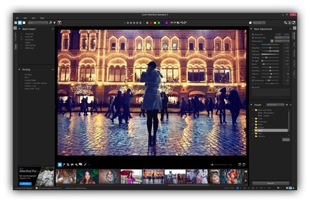 Manage, adjust and perfect your photos