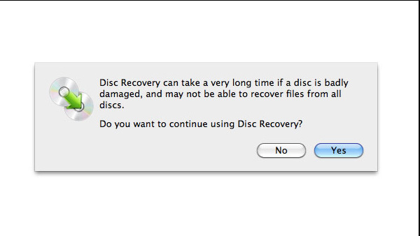 File Recovery for Damaged Discs